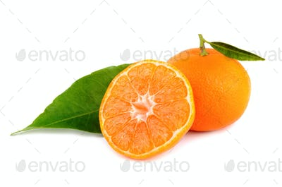 Yellow tangerines
