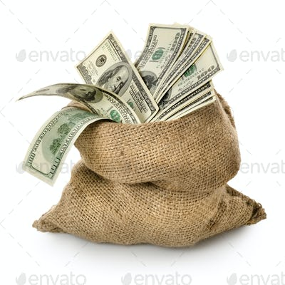 Money in the old bag