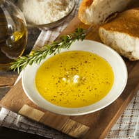 Italian Bread with Olive Oil for Dipping