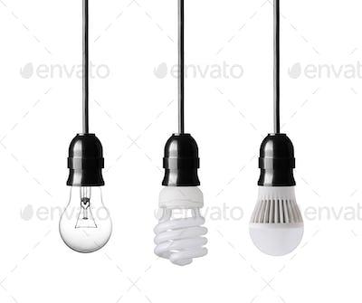 evolution of light bulbs
