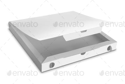 white Package Box for food products