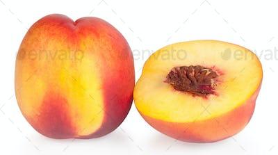 Juicy ripe peaches