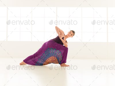 Parivritta Parshvakonasana