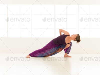 yoga practice exercise indor