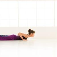 yoga posture demonstration