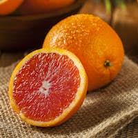 Healthy Organic Ripe Blood Orange