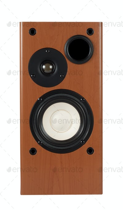 View the speaker front