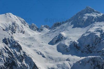 Negoiu peak in winter