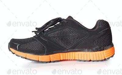 Sporty black sneakers
