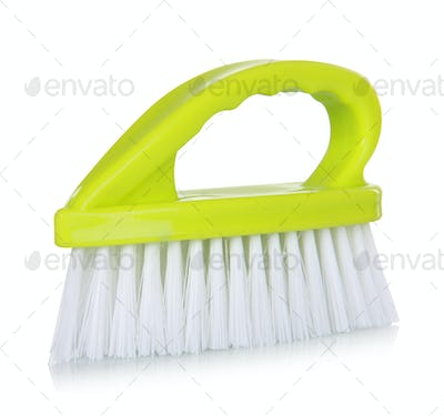 green cleaning Brush
