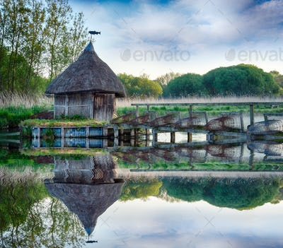 Thatched Fishermans Hut