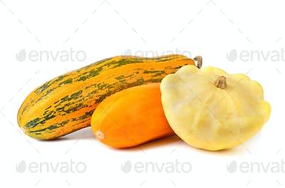 Fresh vegetable marrows