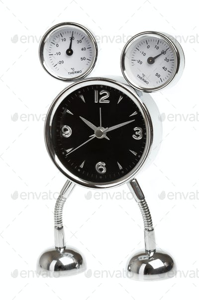 Metal alarm-clock