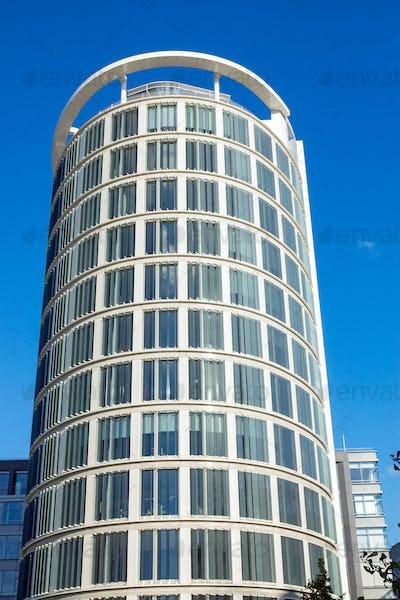 Modern skyscraper in Hamburg