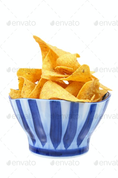Corn Chips in Bowl