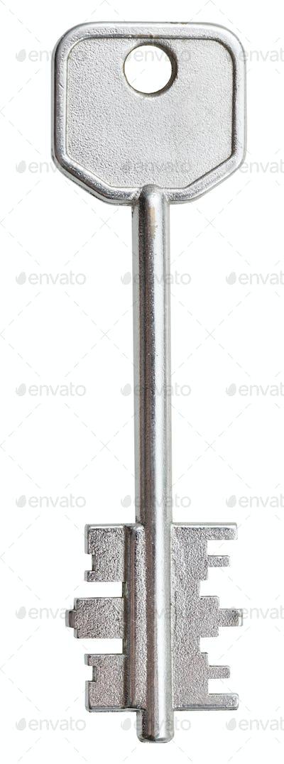 big steel door key for lever tumbler lock