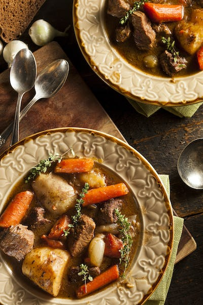 Homemade Irish Beef Stew