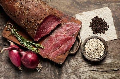 Elegant food preparation: meat