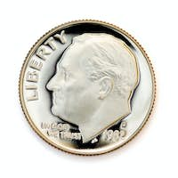 Perfect uncirculated coin