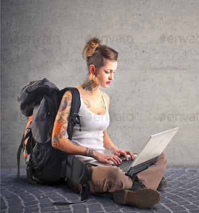 typing sat