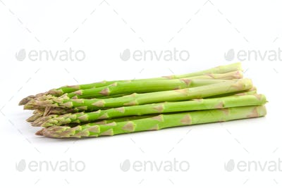 ripe green asparagus