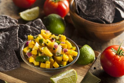 Fresh Homemade Mango Salsa