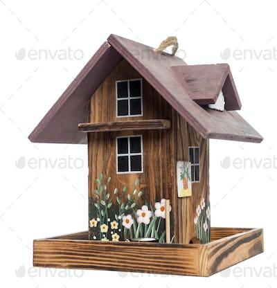 Birdhouse, isolated on white
