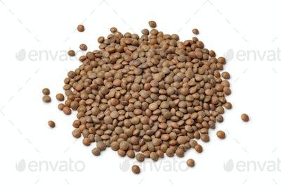 Heap of mountain lentils