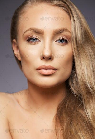 Perfect face and makeup