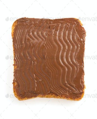 bread and sweet chocolate hazelnut