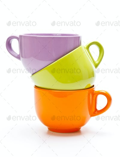 Tree color cups
