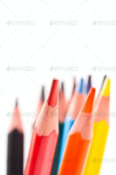 Triangular color pencils