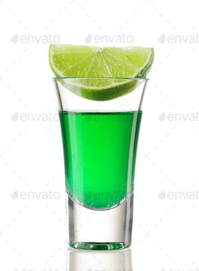 Shot drink cocktail