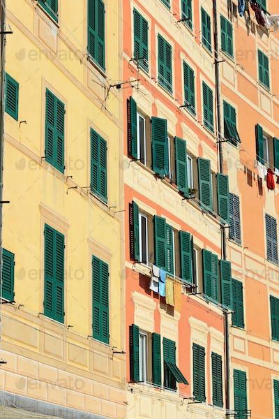 facades in Camogli