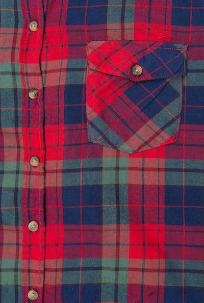 pocket plaid shirt