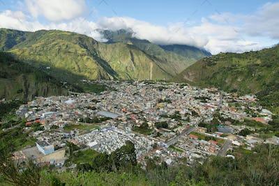 City of Banos, Ecuador