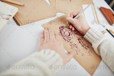 Drawing female