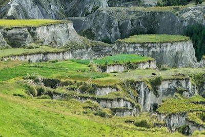 Views of Toachi river canyon