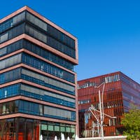 Buildings in the Hafencity, Hamburg