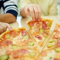 In pizzeria