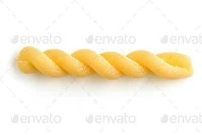 raw spiral pasta