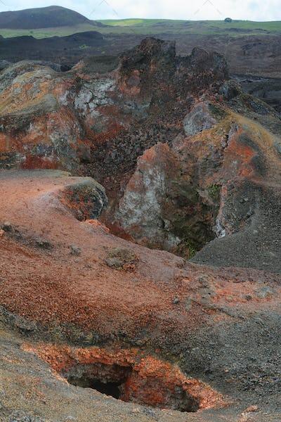 Volcano Chico around Volcano Sierra Negra,
