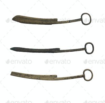 ancient bronze scraper