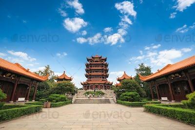 chinese wuhan yellow crane tower