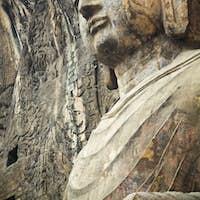 locana buddha in longmen grottoes