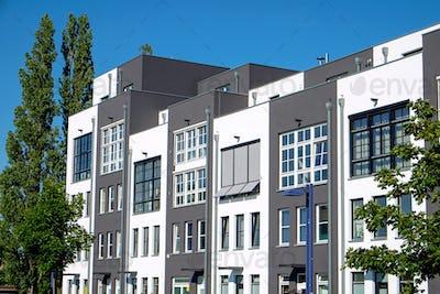 Modern terraced housing