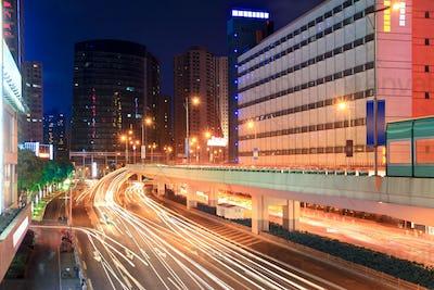 night city highway traffic