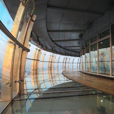 transparent terrace