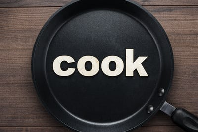 Pan With Word Cook