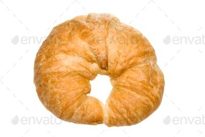 Fresh bakes croissant